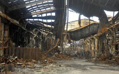 Rogo porto Ancona: consulenza parti offese, fiamme dolose