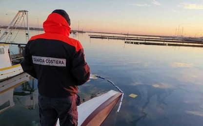 Peschereccio affonda nel porto di San Benedetto del Tronto