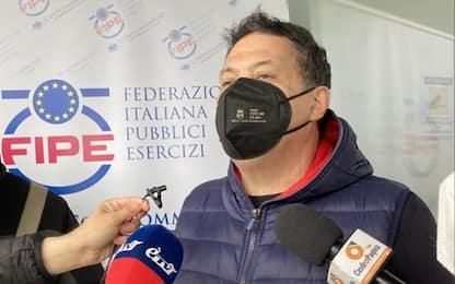 Covid: ristoratore dimesso a manifestazione,'ancora provato'