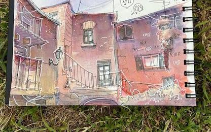 Fumetti: residenza d'artista a Fabriano per Alberto Madrigal