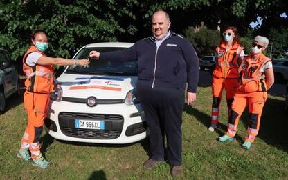 Sanità: Cai dona 7 auto ad Anpas Piemonte e Valle d'Aosta