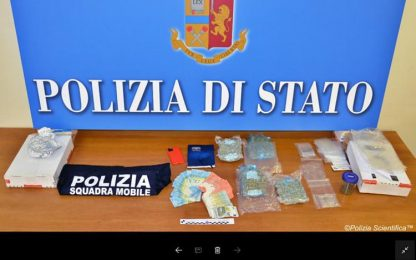 Droga: dalla Spagna marijuana via posta, arrestato aostano