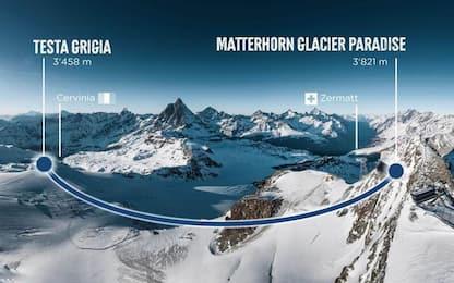 Montagna: collegamento Zermatt-Cervinia pronto tra un anno