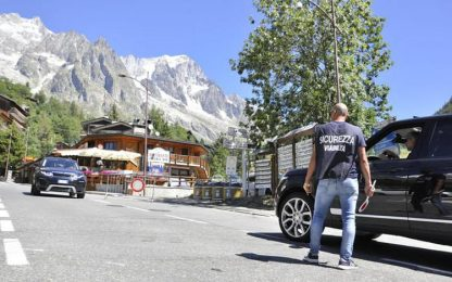 Cessa l'allerta per il  ghiacciaio Planpincieux , riapre Val Ferret