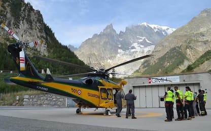 Montagna: ricerca dispersi e soccorso, esercitazione Sagf-Vvf