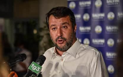 Elezioni: Salvini, storica vittoria Lega in Valle d'Aosta