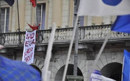 Striscione contro Salvini, denunciata consigliera Aosta