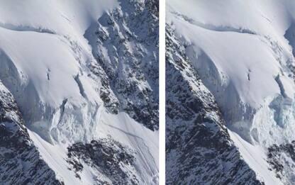 Montagna: crollata parte instabile seracco Whymper