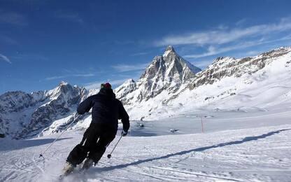 Turismo: al via a Cervinia stagione sci, con incognita Covid