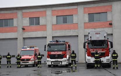 Vigili fuoco: Vda, 1.700 interventi professionisti in 2020