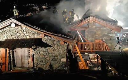 Incendio in abitazione Brissogne, nessun ferito