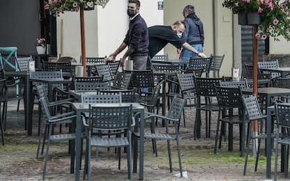 Valle d'Aosta chiede stop obbligo ristorazione in dehors