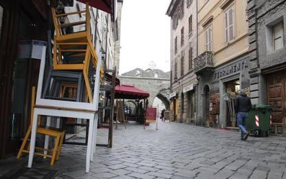 Valle d'Aosta unica regione arancione
