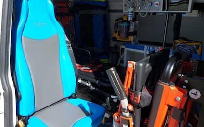 Sanità: Cogne Acciai Speciali dona ambulanza a Cri
