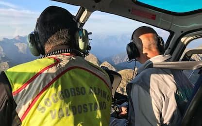 Escursionista morta a Valtournenche, vittima 80enne di Aosta