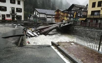 Maltempo, Cdm stanzia fondi 3,4 milioni per Valle d'Aosta