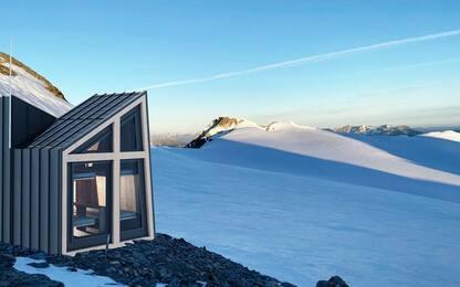 Sul ghiacciaio del Rutor bivacco dedicato a Edoardo Camardella