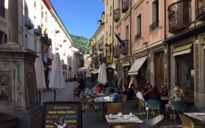 Covid: Iss, Valle d'Aosta scende a rischio basso