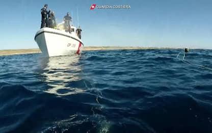 Sub muore in Salento in battuta di pesca