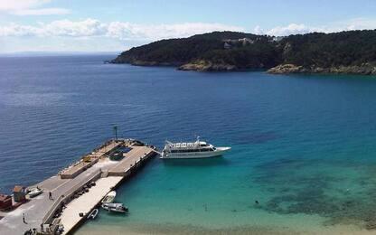 Traghetto Tirrenia salpato da Termoli