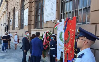 Strage Bologna: Emiliano ricorda vittime baresi