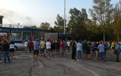 A.Mittal: presidio e blocco a Taranto