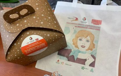 Violenza donne: numeri emergenza su confezioni pizze a Bari