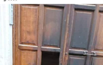Incendiato portone abitazione del sindaco di Trani