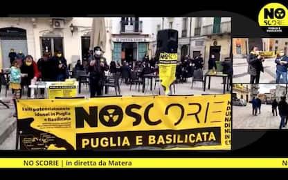 Nucleare:protesta in Puglia e Basilicata'No deposito scorie'