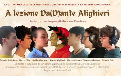 Scuola:fiction studenti Bari 'a lezione Da(D)ante Alighieri'