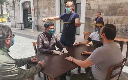 Covid: ok Comune Bari a tavolini bar e ristoranti in strada