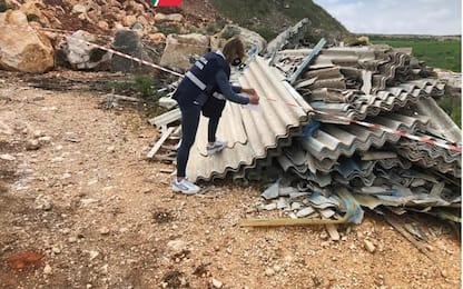 Rifiuti:in Puglia in un mese sigilli a 10mila mq, 15 denunce