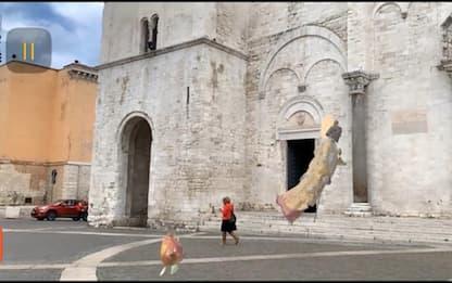 San Nicola in realtà aumentata,una app lo fa 'volare' a Bari