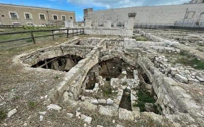 Su rovine antica bari monumento contemporaneo di Tresoldi