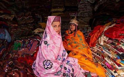 La forza delle donne afghane nella mostra 'Beauty amid War'
