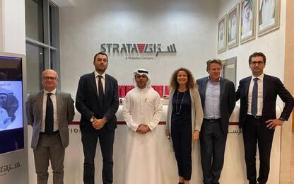 Expo Dubai: delegazione Puglia visita società aerostrutture