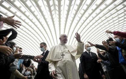 """Papa ai cattolici, """"più coraggio per uscire dalla crisi"""""""