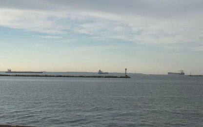 Ex Ilva:Usb,navi ferme in rada in attesa che azienda paghi