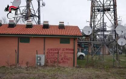 Scarcerati sette anarchici a Bologna