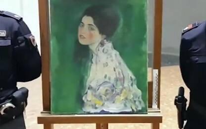 Il 'Ritratto di Signora' di Klimt è stato dissequestrato