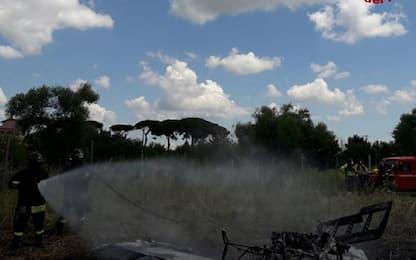 Cade ultraleggero vicino Roma, morto nuotatore forlivese