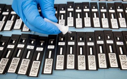 Coronavirus: in E-R 96 casi su quasi 9mila tamponi, un morto