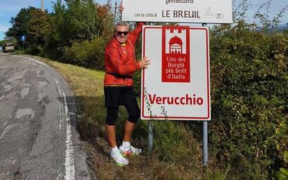 Dona un rene al nipote e corre la mezza maratona a Rimini