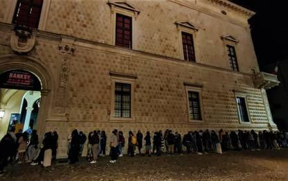 Mostre: 65mila visitatori per Banksy a Ferrara