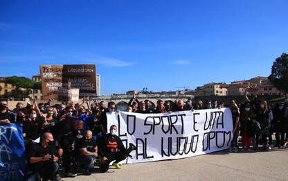 Flash-mob delle palestre a Rimini, 'fateci lavorare'