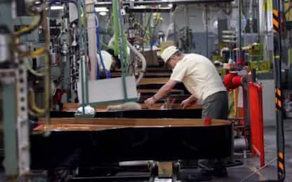 Imprese:produzione manifatturiera E-R -6,7% in 3/o trimestre
