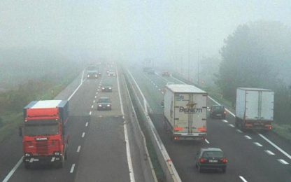 Nebbia in A13, incidenti e due morti