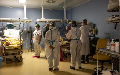 Covid: su contagi e ricoveri in E-R, quasi 2.600 nuovi casi