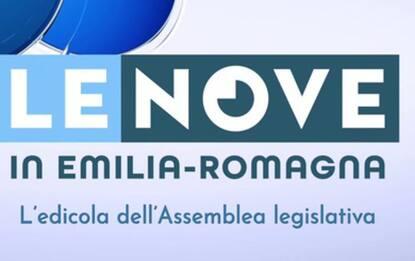 'LeNove in Emilia-Romagna', rassegna stampa con la Regione
