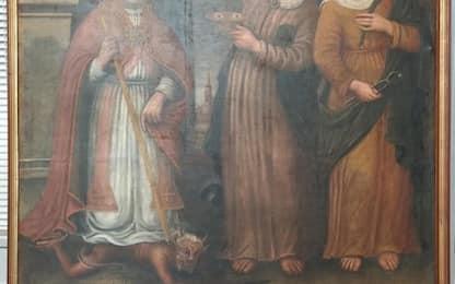 Restituito al Modenese un dipinto rubato 22 anni fa